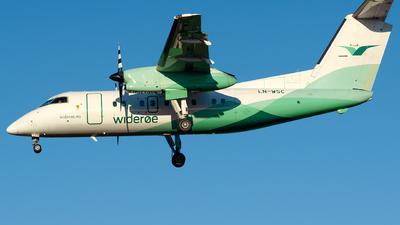 A picture of LNWSC - De Havilland Canada Dash 8200 - Wideroe - © Laszlo Fekete