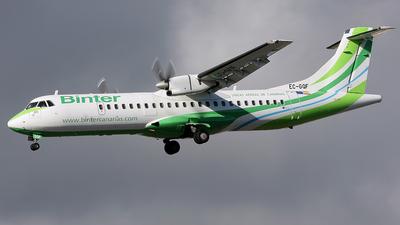 EC-GQF - ATR 72-202 - Binter Canarias