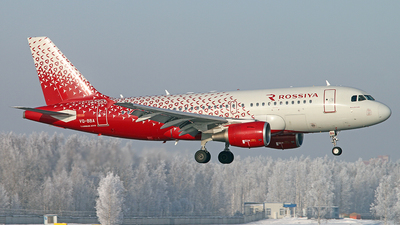 VQ-BBA - Airbus A319-111 - Rossiya Airlines