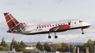 G-LGNB - Saab 340B - Loganair