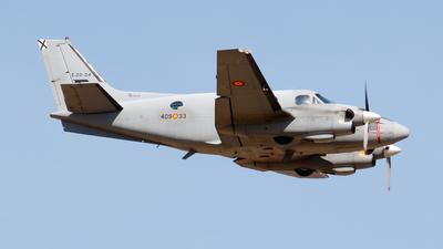 E.22-04 - Beechcraft C90 King Air - Spain - Air Force