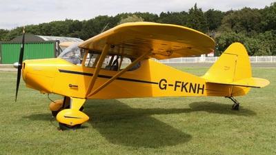 G-FKNH - Piper PA-15 Vagabond - Private