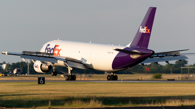 A picture of N741FD - Airbus A300B4622R(F) - FedEx - © Andrew Wu