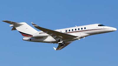 A picture of N800QS - Cessna 700 Citation Longitude - NetJets - © Alec Mollenhauer