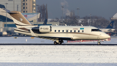 A picture of UPCL602 - Bombardier Challenger 604 - Comlux Aviation - © Frolov Sergey