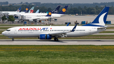 TC-JFN - Boeing 737-8F2 - AnadoluJet