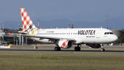 EC-NNY - Airbus A320-214 - Volotea