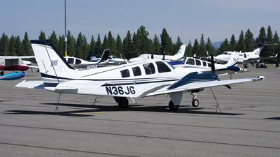 N36JG - Beechcraft G58 Baron - Private