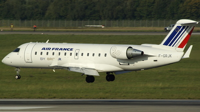 F-GRJK - Bombardier CRJ-100ER - Air France (Brit Air)