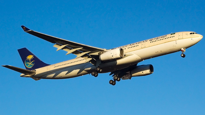 A picture of HZAQC - Airbus A330343 - Saudia - © Wesley Moolman