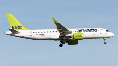 YL-CSC - Bombardier CSeries CS300 - Air Baltic