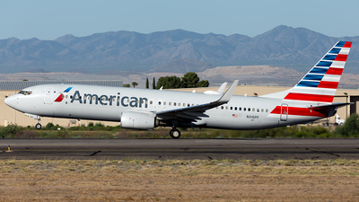 A picture of N316PF - Boeing 737823 - American Airlines - © Cayden Smith