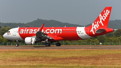 9M-AQV - Airbus A320-216 - AirAsia