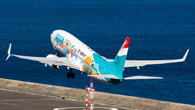 A picture of LXLGU - Boeing 7378C9 - Luxair - © Nelson Sousa