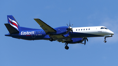 G-CDEA - Saab 2000 - Eastern Airways