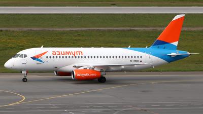 A picture of RA89180 - Sukhoi Superjet 10095B - Azimuth - © SeniorNN