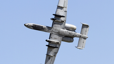81-0981 - Fairchild A-10C Thunderbolt II - United States - US Air Force (USAF)