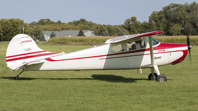 A picture of N170AS - Cessna 170A - [19824] - © Jeremy D. Dando