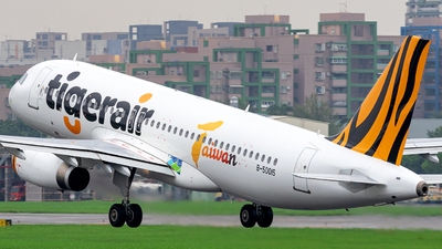 A picture of B50015 - Airbus A320232 - Tigerair Taiwan - © Herman Hung