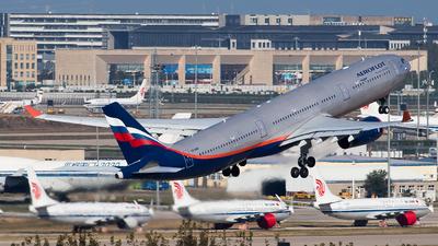 VQ-BMV - Airbus A330-343 - Aeroflot