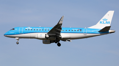 A picture of PHEXO - Embraer E175STD - KLM - © Marvin Knitl