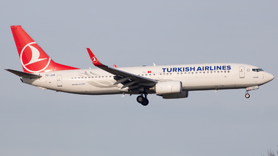 A picture of TCJGV - Boeing 7378F2 - Turkish Airlines - © Maik Voigt