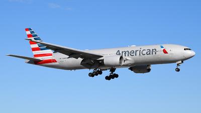 A picture of N767AJ - Boeing 777223(ER) - American Airlines - © Sebastian Wermuth