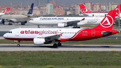 TC-ABL - Airbus A320-214 - AtlasGlobal