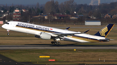 9V-SMH - Airbus A350-941 - Singapore Airlines
