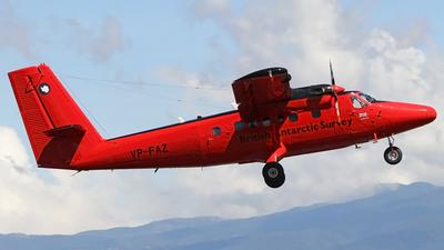 VP-FAZ - De Havilland Canada DHC-6-300 Twin Otter - British Antarctic Survey