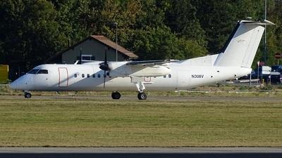 A picture of N308V - De Havilland Canada Dash 8300 - [397] - © Nolan Jungo