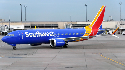 N8720L - Boeing 737-8 MAX - Southwest Airlines