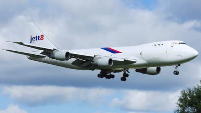 9V-JEA - Boeing 747-2D3B(SF) - Jett8 Airlines Cargo
