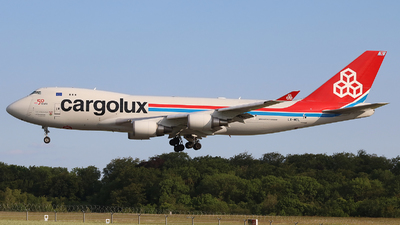 A picture of LXMCL - Boeing 7474HAF(ER) - Cargolux - © Peter Bakema