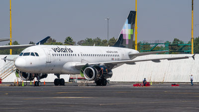A picture of XAVOE - Airbus A319133 - Volaris - © Ricardo Mungarro