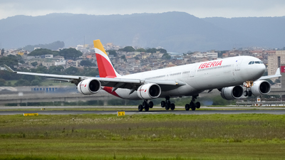 A picture of ECJCZ - Airbus A340642 - [0619] - © Felipe Oliveira - oliver_spotting
