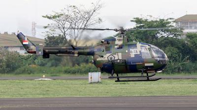 HS-7107 - MBB Bo105CB-4 - Indonesia - Army