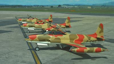F-ZVLC - Canadair CT-133 Silver Star - Bolivia - Air Force