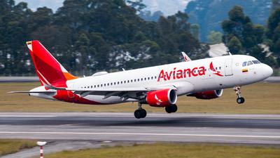 N740AV - Airbus A320-214 - Avianca