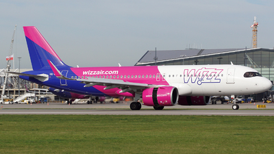 HA-LJC - Airbus A320-271N - Wizz Air
