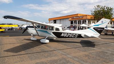 N825CS - Cessna T206H Turbo Stationair HD - Private