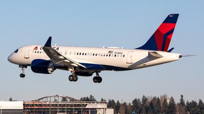 N128DU - Airbus A220-100 - Delta Air Lines
