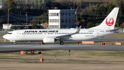 JA345J - Boeing 737-846 - Japan Airlines (JAL)