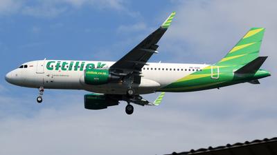 A picture of PKGQU - Airbus A320214 - Citilink - © M. Raykahn Ariga