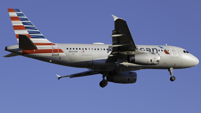N804AW - Airbus A319-132 - American Airlines