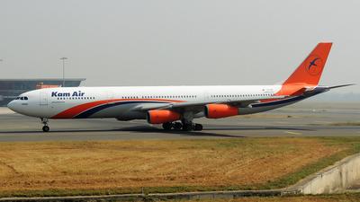 YA-KMT - Airbus A340-313X - Kam Air