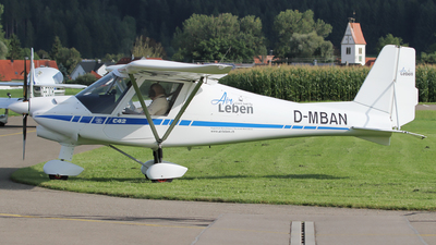D-MBAN - Ikarus C-42 - Private