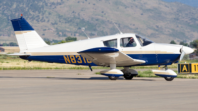 N831BF - Piper PA-28-180 Cherokee C - Private