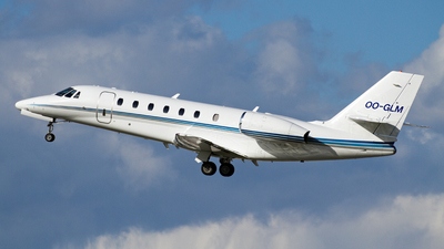 OO-GLM - Cessna 680 Citation Sovereign - Private