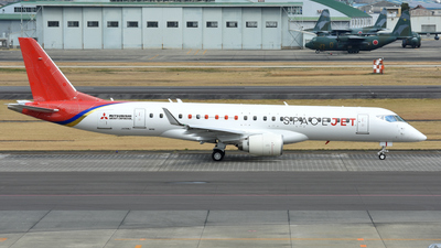 JA26MJ - Mitsubishi M90 SpaceJet - Mitsubishi Aircraft Corporation